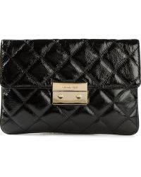 Michael by Michael Kors Quilted Chain Shoulder Bag - Lyst