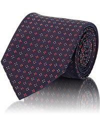 Uman - Men's Neat-pattern Necktie - Lyst