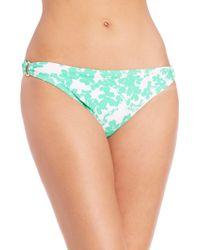 Shoshanna | Beach Vine Ring Bikini Bottom | Lyst