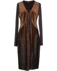 Donna Karan New York Knee-Length Dress - Lyst