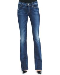 7 For All Mankind Skinny Bootcut Monarq Jeans - Lyst