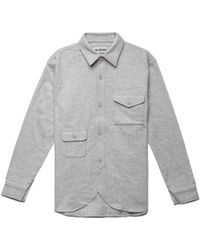 Han Kjobenhavn Grey Army Shirt gray - Lyst