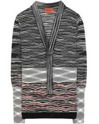 Missoni Crochetknit Top - Lyst