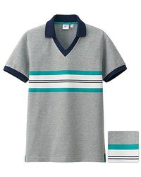 Uniqlo Washed Short Sleeve Polo Shirt By Michael Bastian - Lyst