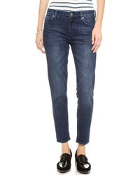 MiH Jeans The Tomboy Jeans Dry Wash - Lyst
