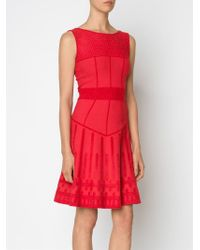 Maison Ullens - Flared Sleeveless Dress - Lyst