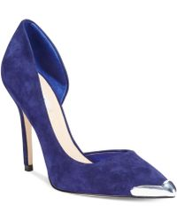 Guess Blue Beilan Pumps - Lyst