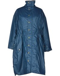 Henrik Vibskov Midlength Jacket blue - Lyst