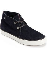 Tommy Hilfiger City Suede High Top - Lyst