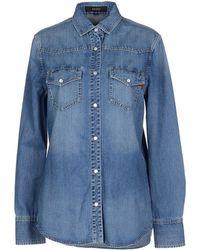 Gucci Denim Shirt - Lyst