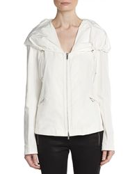 Armani Lightweight Hooded Zip Jacket - Lyst