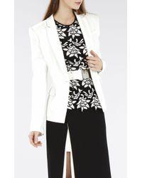 BCBGMAXAZRIA Maxwell Long-Sleeve Jacket - Lyst