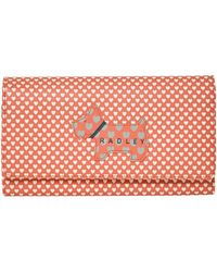 Radley | Love Coral Large Flap-over Purse | Lyst