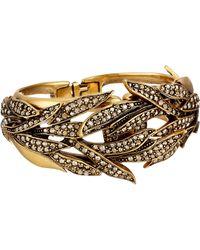 Oscar de la Renta Pave Spike Bracelet - Lyst
