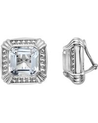 Slane - Voltaire Square Crystal Earrings - Lyst