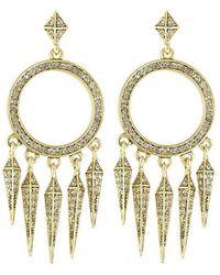 House of Harlow 1960 - Vibrations Chandelier Earrings - Lyst