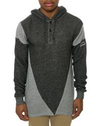 Crooks And Castles The Sporthief Hooded Rugby Top - Lyst