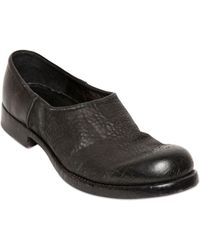 The Last Conspiracy 20mm Textured Leather Slip On Shoes - Lyst