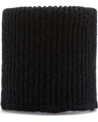 Anthony Vaccarello Mock Turtleneck Collar - Lyst