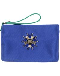 Love Moschino Pouch blue - Lyst