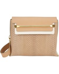 Chloé Python Medium Clare Shoulder Bag - Lyst