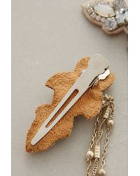 Deepa Gurnani Draped Moonbeam Hair Clips - Lyst