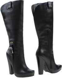 Jessica Simpson Black Boots - Lyst