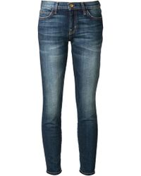 Current/Elliott The Stiletto Cropped Jeans - Lyst