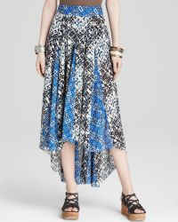 Free People Skirt - Printed Show You Off - Lyst