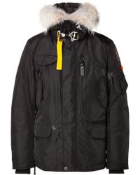 Parajumpers Right Hand Down Parka in Black - Lyst