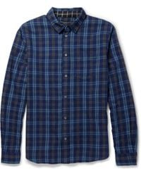 Marc By Marc Jacobs Regular-fit Check Cotton-flannel Shirt - Lyst