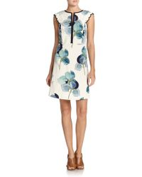 Tory Burch Edith Dress - Lyst
