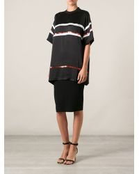 Givenchy Boxy Striped Top - Lyst