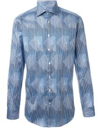 Etro   Abstract Print Shirt   Lyst
