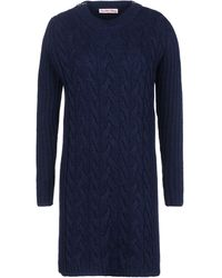 See By Chloé Blue Short Dress - Lyst