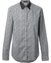 Costume National Repeated Print Shirt - Lyst