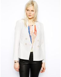 Twenty 8 Twelve Sigmund Bonded Hammer Tailored Blazer - Lyst