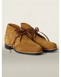 RRL Brown Powell Boot - Lyst