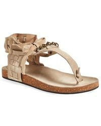 Free People 'Collins' Ankle Cuff Sandal - Lyst