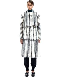 Lanvin Womens Mink Fur Coat - Lyst