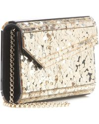 Jimmy Choo Candy Sequin Shoulder Bag - Lyst