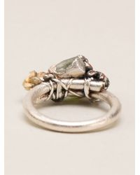 Ruth Tomlinson - Encrusted Ring - Lyst