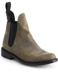 Rag & Bone Dartford Leather Chelsea Ankle Boots - Lyst
