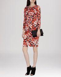 Karen Millen Dress - Texture Print - Lyst