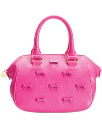 Betsey Johnson Little Bow Chic Crossbody Satchel - Lyst
