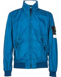 Stone Island Blue Membrane 3L Tc Jacket blue - Lyst