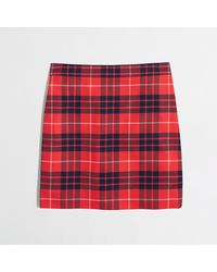 J.Crew Factory Plaid Mini - Lyst
