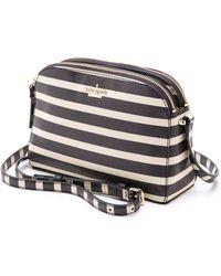 Kate Spade Cedar Street Stripe Mandy Bag - Off Shorepebble - Lyst