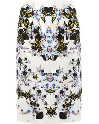 Josh Goot - Orchid Morphprint Pencil Skirt - Lyst