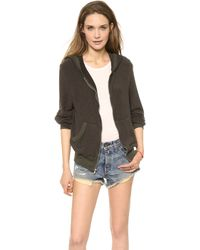 Wildfox - Where I Fell From Jacket Vintage Black - Lyst